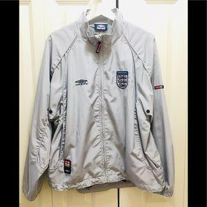 Umbro England Windbreaker Jacket Men's Small